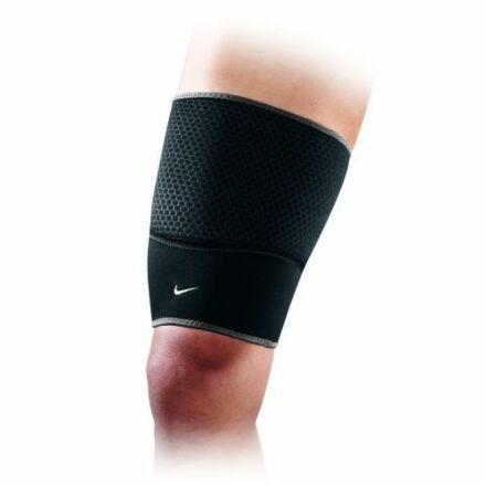 Nike Thigh Sleeve - Black/Dark Charcoal