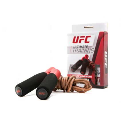 UFC Leather Jump Rope